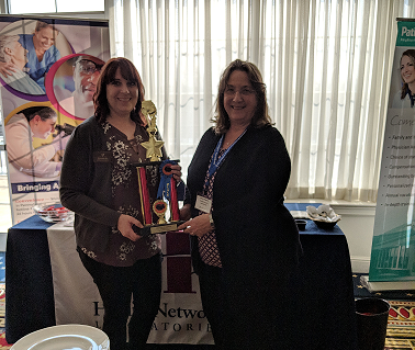 "Congratulations to our 2019 Chili Cook-off Champion Joanne Hegarty with her winning recipe of ""Tex Mex Chili."""