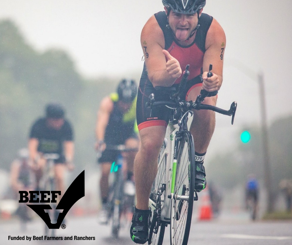 The Value of Beef to One Northeast Team Beef Triathlete